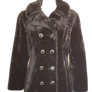 Vintage long double breasted coat sm/med 0015